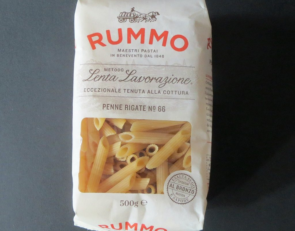 Herrliche Pasta aus dem Pastificio Rummo in Kampanien