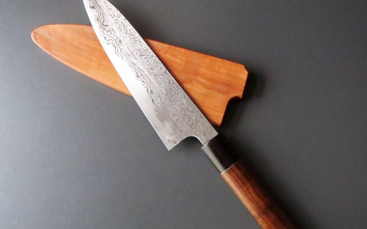 Damaststahl-Küchenmesser von Noriaki Narushima – Japanische Handwerkskunst aus Bayern!